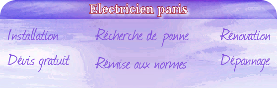 electricien paris 14