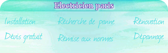 electricien paris 18