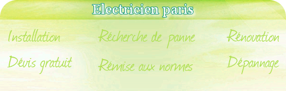 electricien paris 7